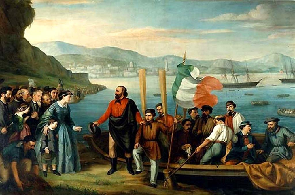 Garibaldi débarquement
