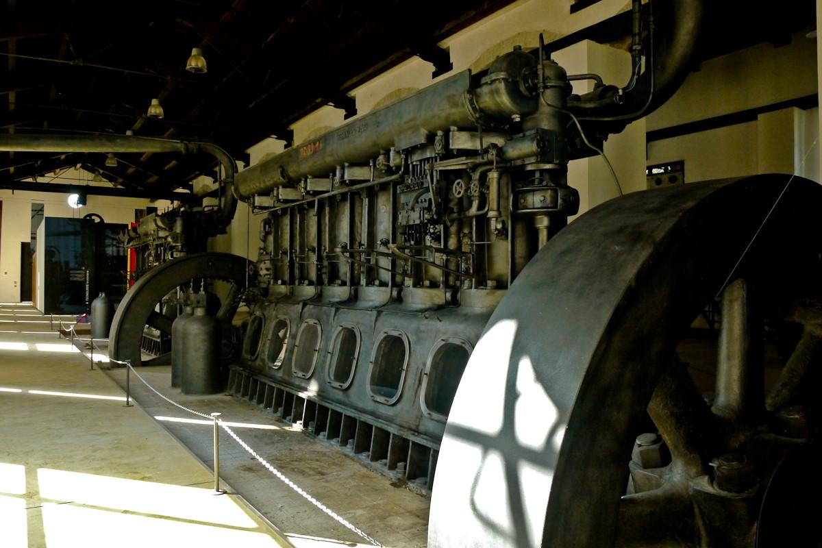 Mines de la Trabia Centrale électrique