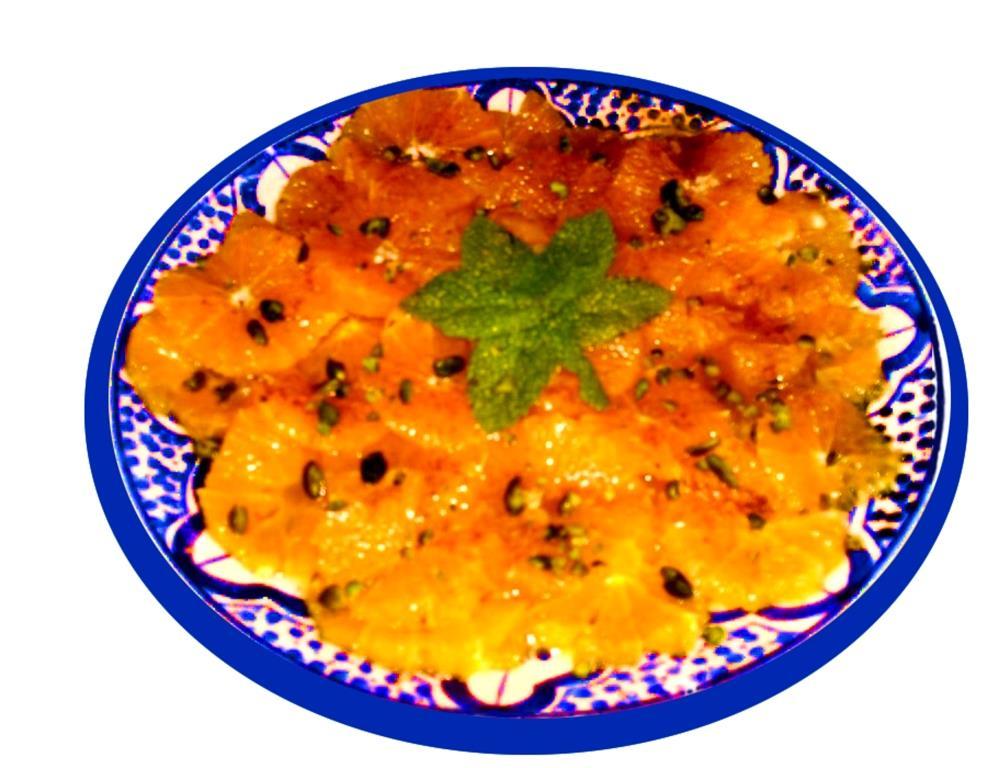 Salade d`orange